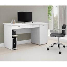 Escrivaninha Mesa de Computador Ariel Branco