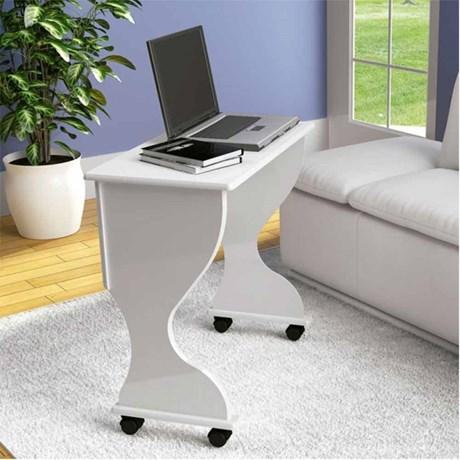 Escrivaninha/Mesa Dobrável P/ Computador C27 100% MDF Dalla Costa