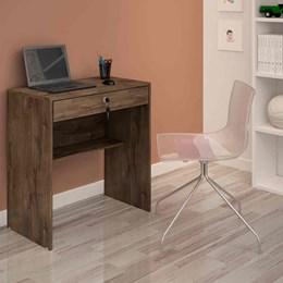 Escrivaninha mesa para computador Andorinha Candian Cacau - JCM Movelaria