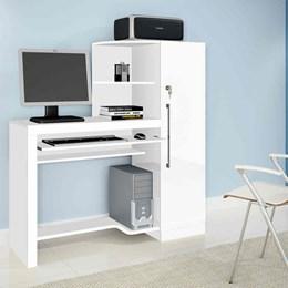 Escrivaninha mesa para computador Aroeira Candian Branco - JCM Movelaria