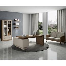 Escrivaninha/Mesa para Computador com 3 Gavetas TC141  - Dalla Costa