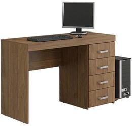 Escrivaninha/Mesa para Computador ou Escritorio 4 Gavetas  - Politorno