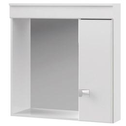 Espelheira Elegance 60x60 cm Branco - MGM