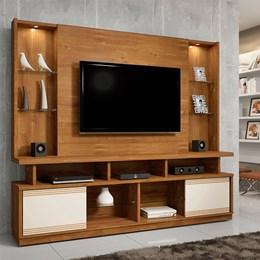 Estante Home Caramelo para TV até 55 Polegadas 2 Portas e LED Maracás - CHF