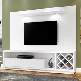 Estante Home Theater Maximus Para TV até 65 Polegadas Branco Fosco - Mavaular