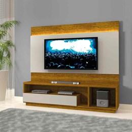 Estante Home Theather p/ TV até 65 Polegadas Conquista - Mavaular Mel/Off White