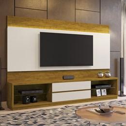 Estante Home Theather p/ TV até 65 Polegadas Istambul - Mavaular Mel/Off White