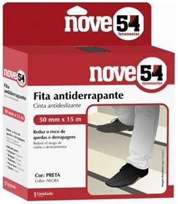 Fita Antiderrapante 50mm x 5m Preta - Nove54