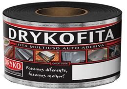 Fita Impermeabilizante Alumínio Rolo 0,10m X 10m - Dryko