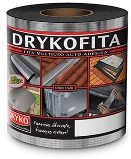 Fita Impermeabilizante Alumínio Rolo 0,20m X 10m - Dryko
