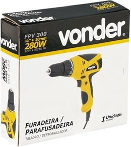 FURADEIRA PARAFUSADEIRA 280W FPV 300 VONDER