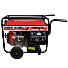 Gerador á Gasolina MG-6000CLE 6KVA 110v/220v Partida Elétrica Monofásico - Motomil