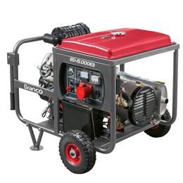 Gerador de energia à Diesel 14KVA 22Cv 380vTri/220vmono Partida Elétrica - Branco Motores