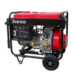 Gerador de Energia à Diesel 2,2Kva 110/220V BD-2500 Branco