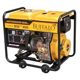 Gerador de Energia a Diesel 6,5Kva BFDE 8000 110/220 - Buffalo