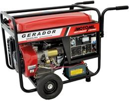 Gerador de Energia a Diesel 8KVA Monofásico MDG8000CLE