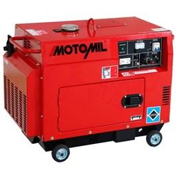Gerador de Energia a Diesel de 5000W Bivolt - 5 KVA - Cabinado - Motomil MDG-5000ATS
