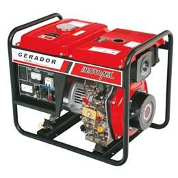 Gerador de Energia a Diesel de 5000W Bivolt Partida Elétrica - 5 KVA - Motomil MDG-5000CL