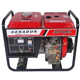 Gerador de Energia a Diesel MDG 3600CL 3,6KVA Bivolt Motomil