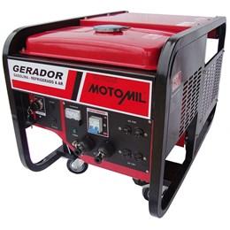 Gerador de energia à gasolina 11 kva potência de 20 hp - MG11000CLE - Motomil