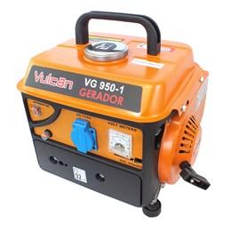 Gerador de Energia a Gasolina 2 Tempos 950W 2,5HP 127V VG950 E-1 Vulcan Equipamentos