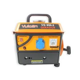 Gerador de Energia a Gasolina 2 Tempos 950W 2,5HP 220V VG950 E-2 Vulcan Equipamentos