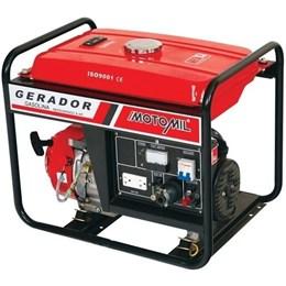 Gerador de energia à gasolina 3 kva partida manual monofásico 4 tempos - MG-3000CL - Motomil