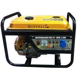Gerador de Energia à Gasolina BFG 2500 6,5CV 2,8 KW Partida Manual - BUFFALO