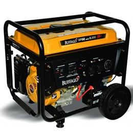 78587481733 Gerador De Energia à Gasolina Buffalo Bfge 8.000 Plus 8Kva Partida Elétrica  ...