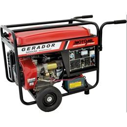 Gerador de Energia a Gasolina MGG 8000CLE - 8 KVA  Bivolt Motomil