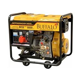 Gerador De Energia Diesel BFDE 8000 6,5KVA 220v Trifásico Buffalo