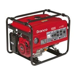 Gerador de Energia Gasolina B4T-8000 E3 8,0kVA Trifásico Partira Elétrica Branco