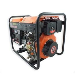 Gerador VG3600D a Diesel 4T 269CC 7HP 3600W Bivolt Partida Manual - Vulcan Equipamentos