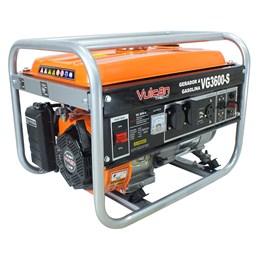 Gerador VG3600S a Gasolina 4T 208CC 7HP 3.6KVA Bivolt Partida Manual - Vulcan Equipamentos