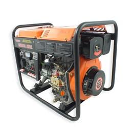 Gerador VGE3600D a Diesel 4T 269CC 3600W Bivolt Partida Elétrica - Vulcan Equipamentos