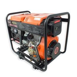 Gerador VGE6000D a Diesel 4T 418CC 10HP 6000W Bivolt Partida Elétrica - Vulcan Equipamentos