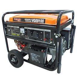 Gerador VGE8100 a Gasolina 4T 439CC 15HP 8.1KVA Bilvolt Partida Elétrica - Vulcan Equipamentos