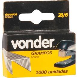 Grampo 6 MM 26/6 Vonder