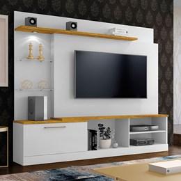 Home Flórida Plus Para TV 65 Polegadas Branco AB/Mel  - Mavaular