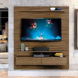 Home Suspenso Fabuloso 160cm P/TV até 60'' Nogal - Zanzini