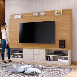 Home Zeus Para TV 65 Polegadas Damasco/Off White - Mavaular