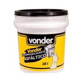 Impermeabilizante asfáltico 18 L - Vonder
