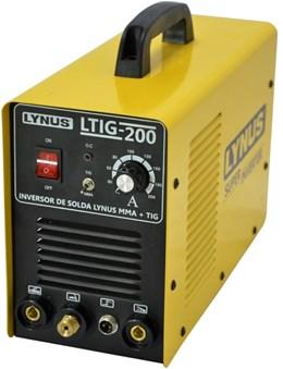 Inversora de solda 200A TIG c/Tocha - Lynus
