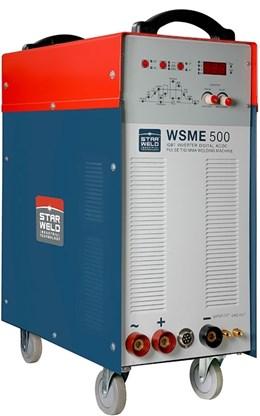 Inversora de Solda Tig Alumínio MMA e TIG AC/DC WSME 500 Star weld