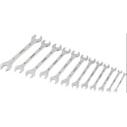 Jogo Chave Fixa 6-32mm Cromo Vanádio Cromada Com 12 Peças Estojo Lona - Jogo - Vonder