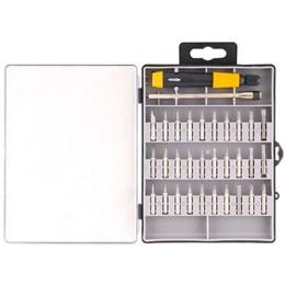 Jogo de bits e ponteiras de precisão com 32 peças - Vonder
