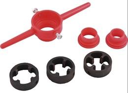 Jogo de tarraxas para canos de PVC 1/2 a 1-NOVE54