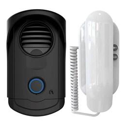 Kit Interfone Porteiro Eletrônico Agl S100 Slim Bivolt