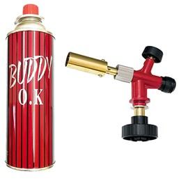 Kit maçarico a Gás com acendimento automático   1 Refil de gás