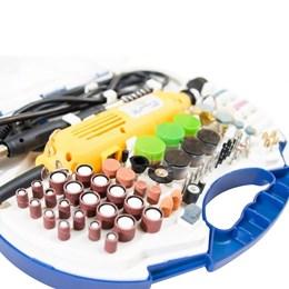 Kit Mini Retifica / Micro Retífica 163 Acessórios 125w - Siga Tools